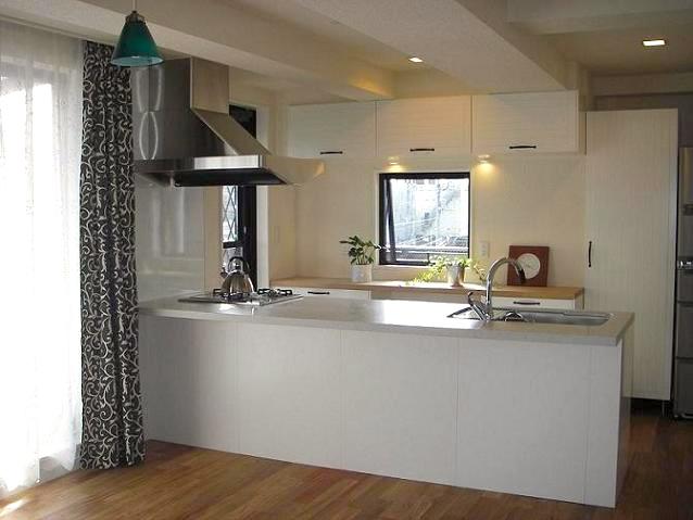 一般住宅施工例キッチン|オオバ住建